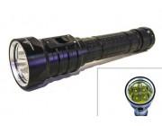 """Подводный фонарь """" SolarStorm D4S """" 4000Lm   Белый свет"""