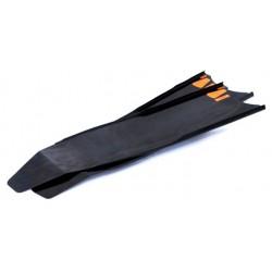 Лопасти стеклопластиковые LeaderFins  ABYSS PRO  LeaderFins  ( черные)