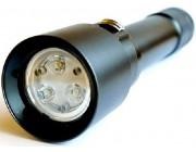 Подводный фонарь ATORCH TC16 ПОДВОХ желтый, белый свет